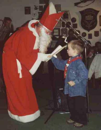 Die Nikolausfeier 2000