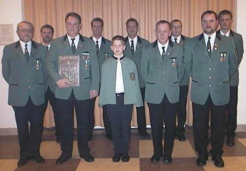 Die Jahreshauptversammlung 2001