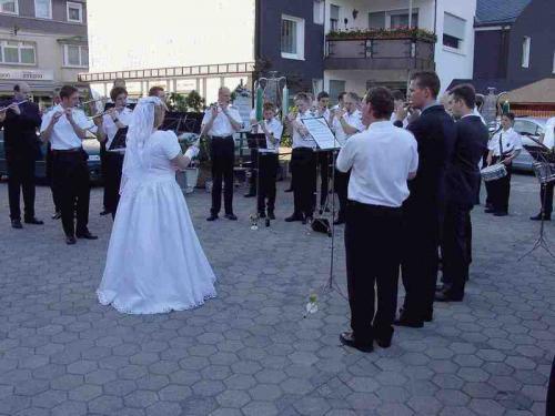 Hochzeit Christian und Anke 2003