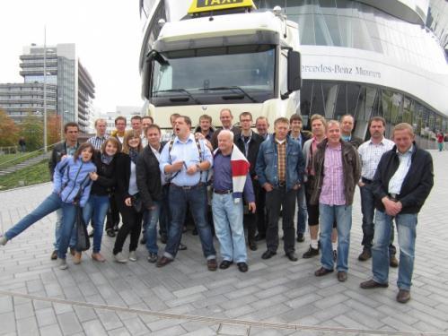 Die grosse Tour 2012 nach Stuttgart