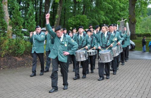 Schützenfeste und weitere Auftritte 2012