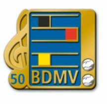 Ehrennadel der BDMV 50