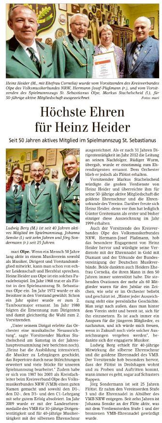 Jahreshauptversammlung 2019 - Siegener Zeitung